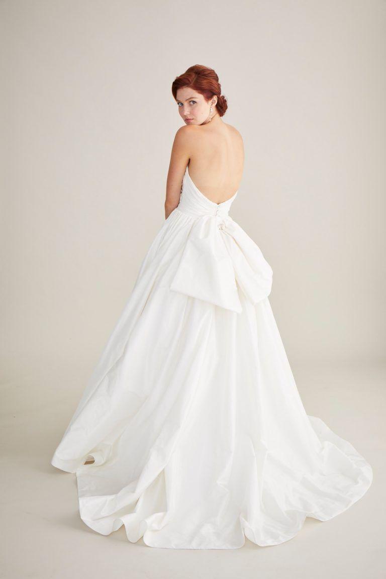 Bianca wedding dress aurora borealis collection leaann