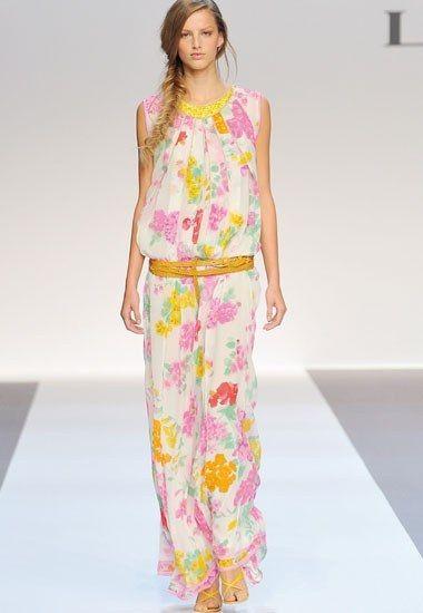 Sommerkleid aus Seidenkrepp - Leonard - Sommer-Trend ...