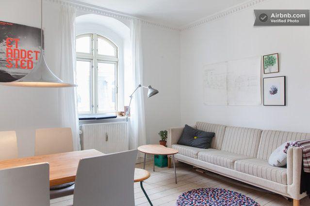 Apartment in the heart of Vesterbro in Copenhagen