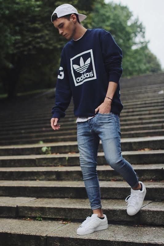 d6f4f03adc2a adidas street style | Men's fashion in 2019 | Teen boy fashion, Hip ...