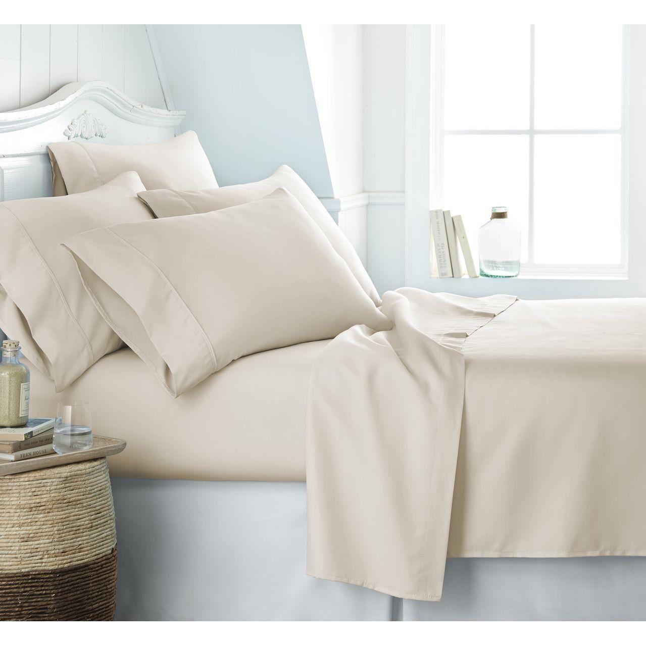 Luxury best bedding pcs duvet set egyptian cotton tc ivory