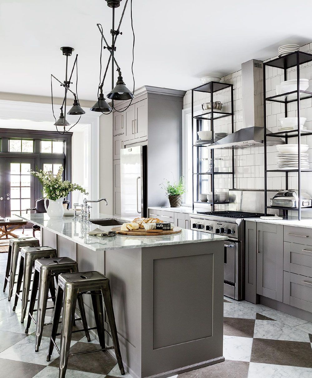 how to create the true bachelor pad grey kitchen