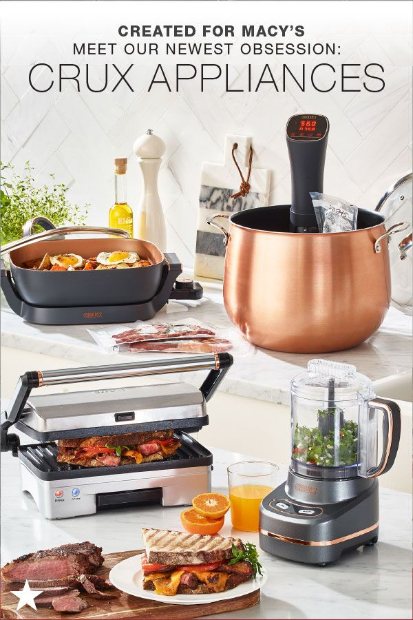 From A Mini Chopper To A Panini Press All The Way To A Sous Vide Any Dish Is Possible With The Help Of Crux Kitchen Must Haves Food Tool Thanksgiving Kitchen
