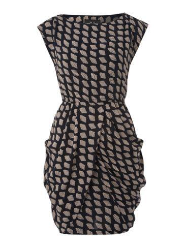 House of Fraser / AX PARIS  Shell Print Sleeveless Shift Dress