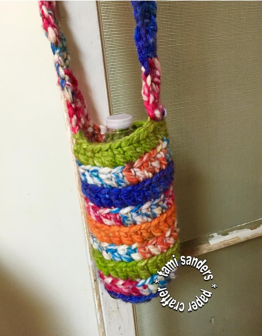 How to crochet a water or soda bottle holder easy handwork how to crochet a water or soda bottle holder easy bankloansurffo Choice Image