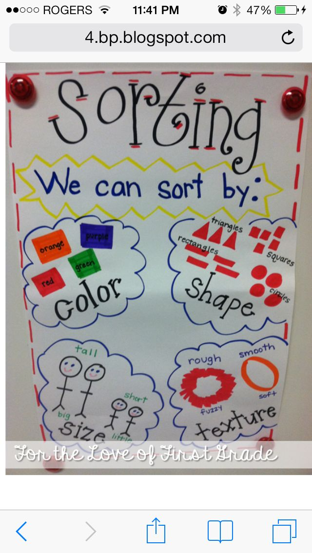 data chart for kids line sorting data management good anchor charts to create with the kids