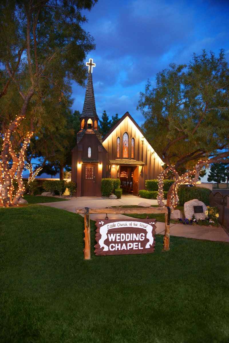 Where my parents and grandparents eloped to be married. Little Church of the West, Las Vegas