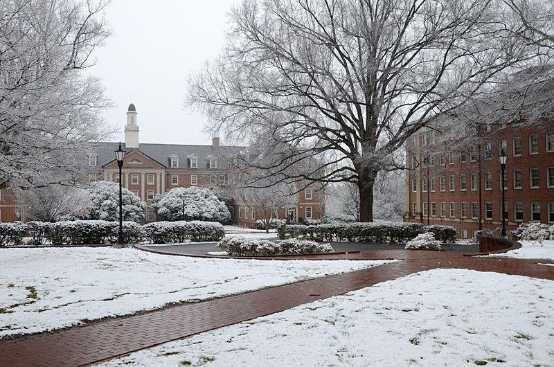 Belk Hall At Davidson College Davidson College Outdoor College