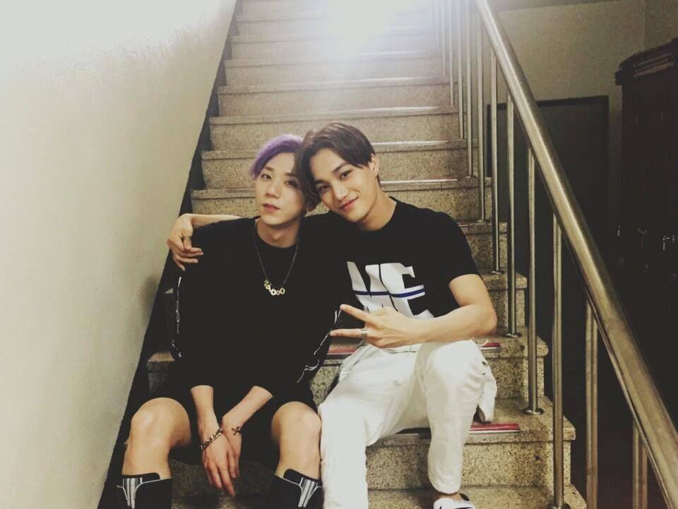 Kết quả hình ảnh cho Kai (EXO) & Timoteo (HOTSHOT)