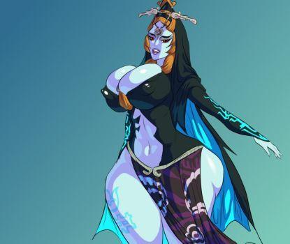 Legend of Zelda - Midna True Form by 5ifty   the queen of Goth ...