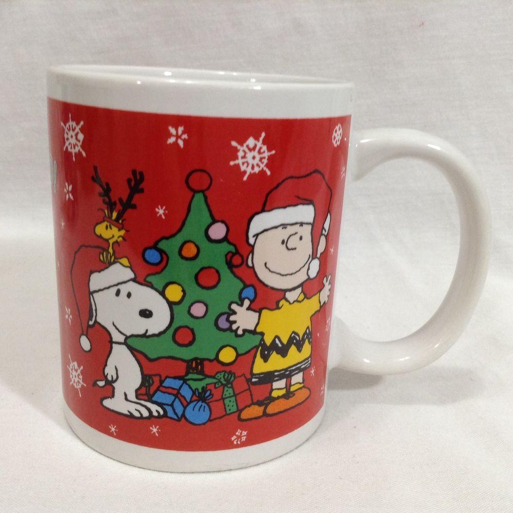 Charlie Brown Snoopy Peanuts Woodstock Christmas Tree Coffee Galerie