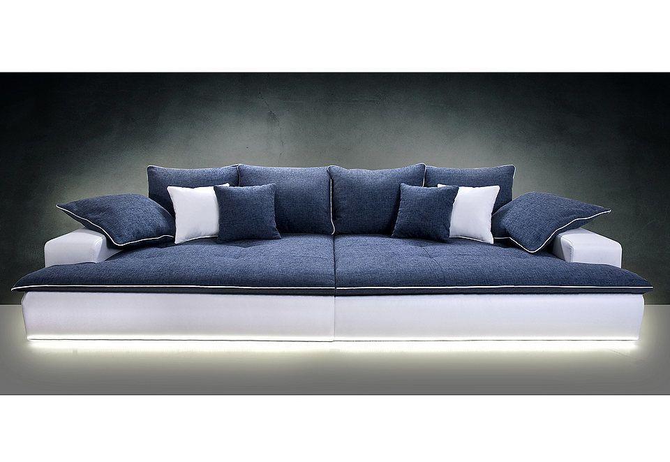 ... Big Sofa Wahlweise Mit LED Beleuchtung Jetzt Bestellen Unter    Beleuchtung Wohnzimmer Led ...