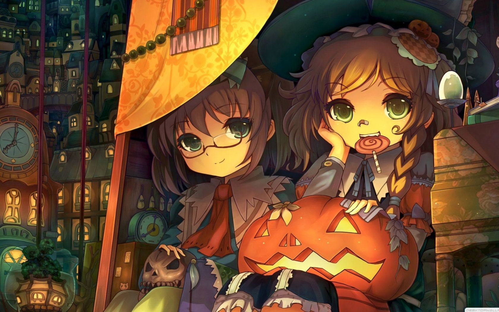 Inzp4hintuaaem Anime cute halloween wallpaper
