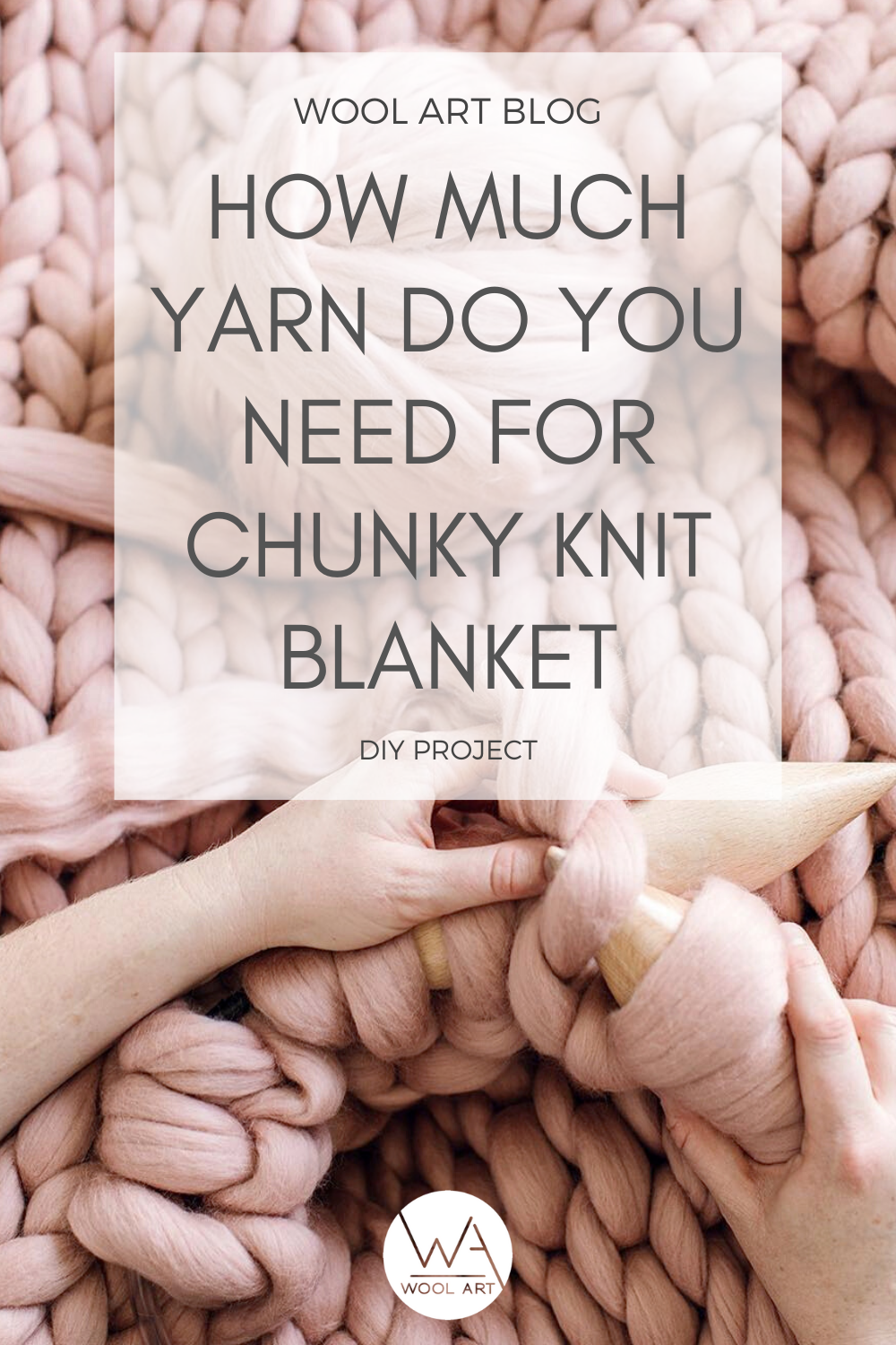 How much yarn do you need for chunky blanket in 2020