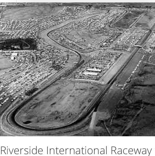 Riverside Raceway, Riverside, Race Track