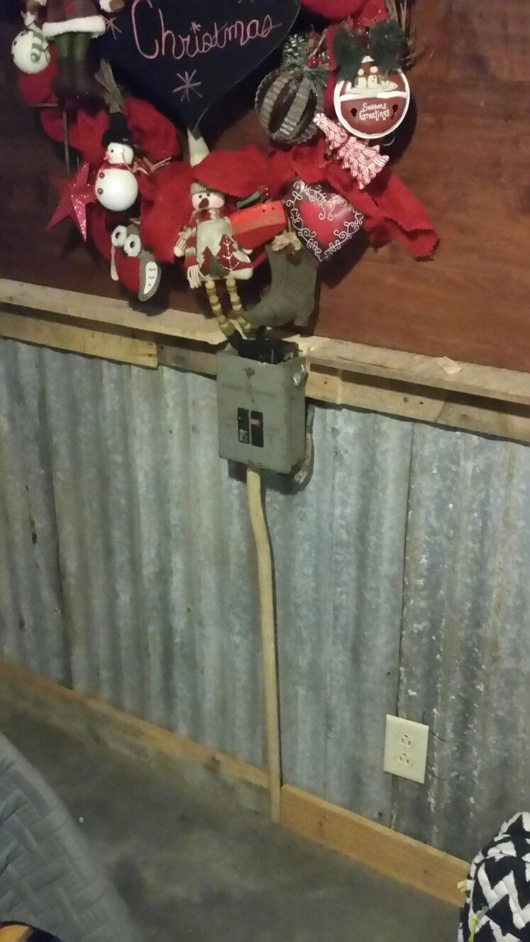 Upgraded The Old Fuse Box To A Breaker Our Cabin Pinterest Help