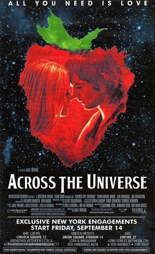 ''Across the Universe ACROSS THE UNIVERSE'' 2007 U.S