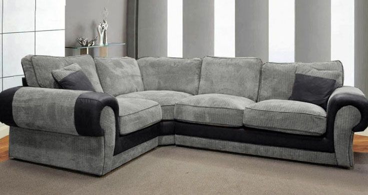 Gray Corner Sofas Lead You To Trendy Fashionable World Grey Corner Sofa Corner Sofa Beautiful Sofas