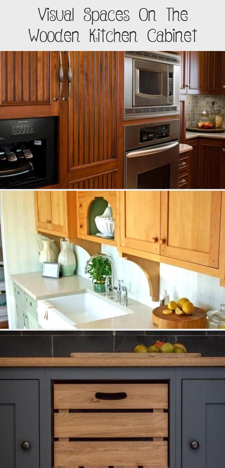 Visual Spaces On The Wooden Kitchen Kitchen