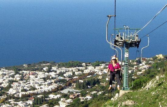 capri chair lift freaky travel pinterest