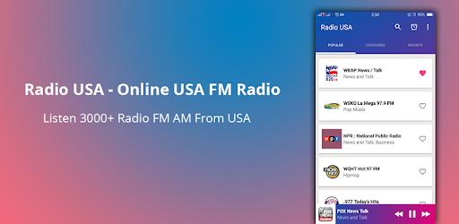 Radio USA - Online USA FM Radio: Listen Almost All USA FM Radio
