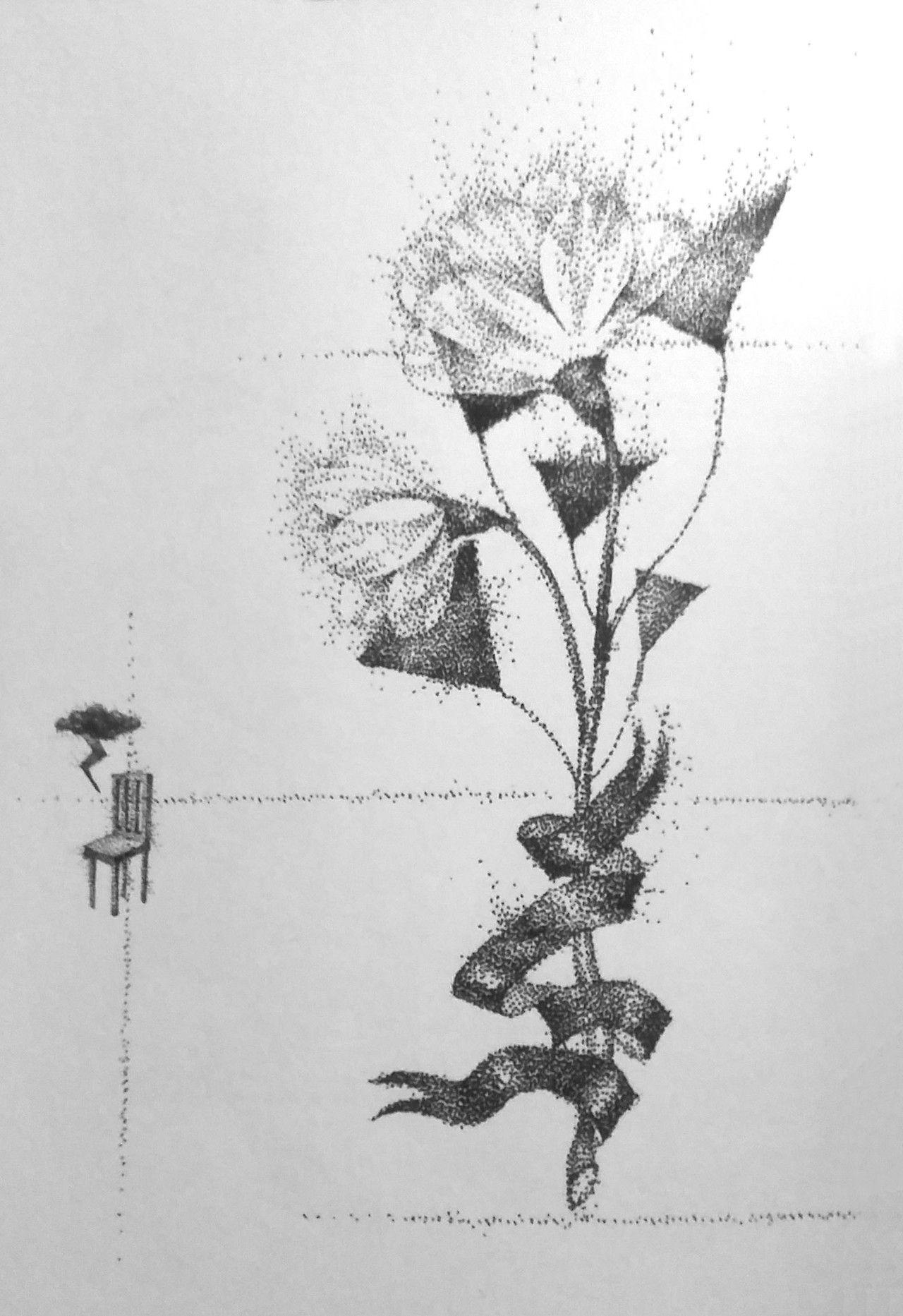 [skeleton flower artwork from jonghyun's story op. 1