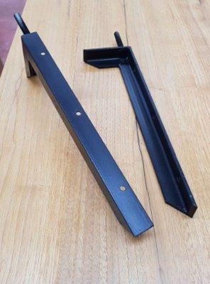 Staffe A Scomparsa Per Mensole.Staffe Reggimensola In Ferro Per Mensole E Piani Lavabo Fino A 150kg