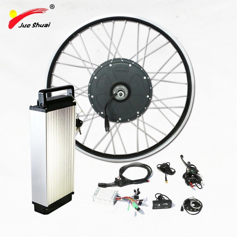 Electric Bike Kit 1000w Brushless Motor With 48v Rear Rack Lithium