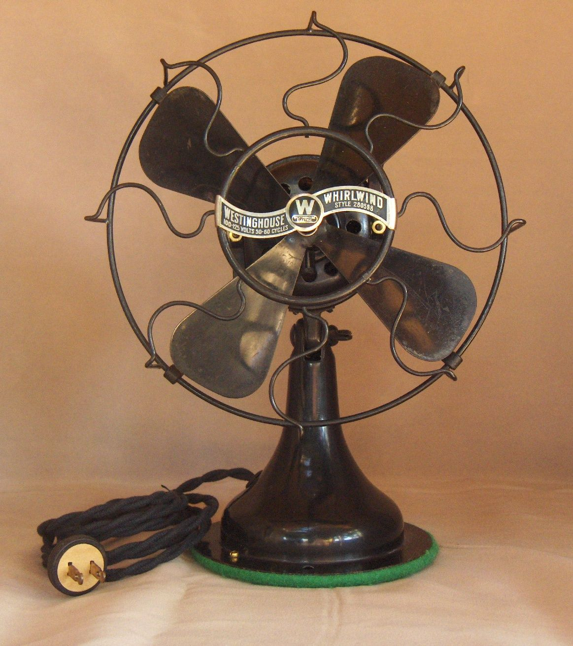 Vintage Fan fan lovewestinghouse circa 1917 | my antiques love