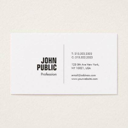 Trending professional creative minimalist plain business card trending professional creative minimalist plain business card simple clear clean design style unique diy reheart Choice Image