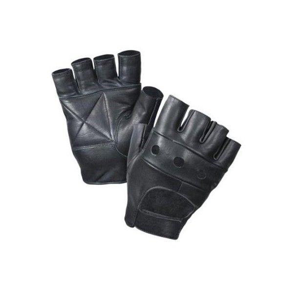 New Rothco Fingerless Biker Gloves Small