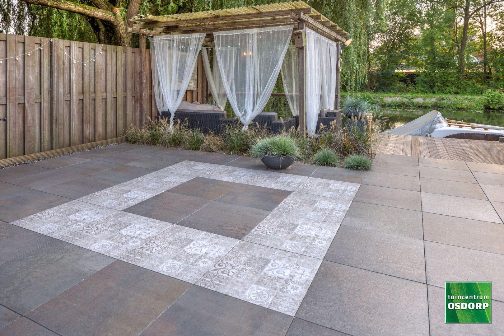 Patroon Tegels Tuin.Beton Siertegels In 2019 Tuin Ideeen Tuin En Tuintegels