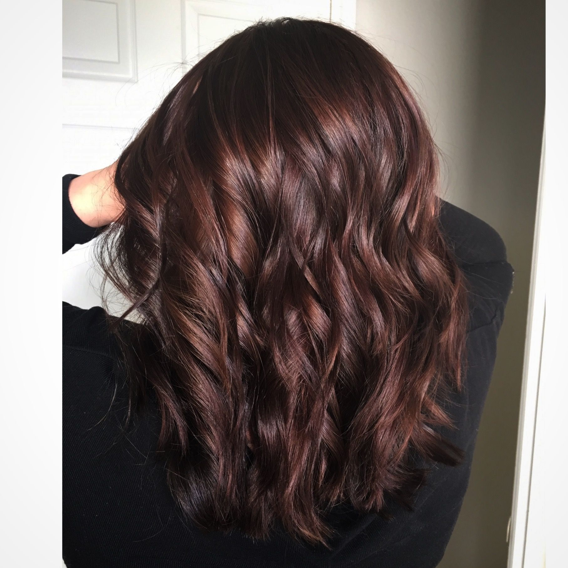 Cherry Chocolate Oh Make Me Over Pinterest Hair