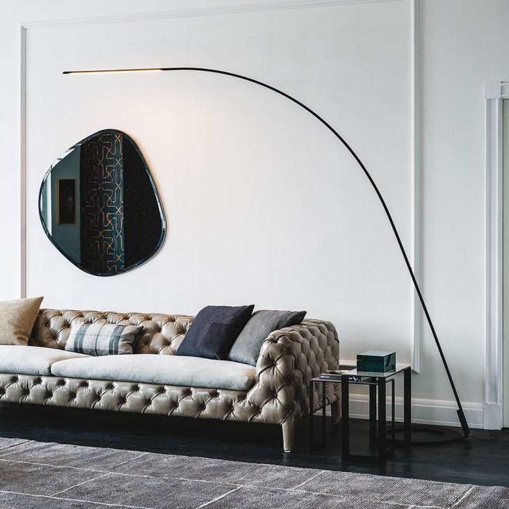 Lampo By Cattelan Italia Is A Floor Lamp With A Modern And Essential Design.  It