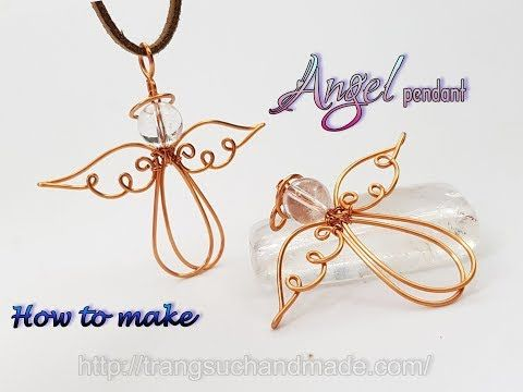 Photo of Angel pendant with spherical stone – Jewelry ideas for Christmas 435