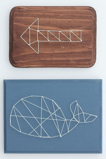 Make any shape into geometric string art with this method!