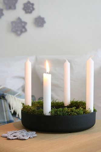 Adventskranz #adventwreath