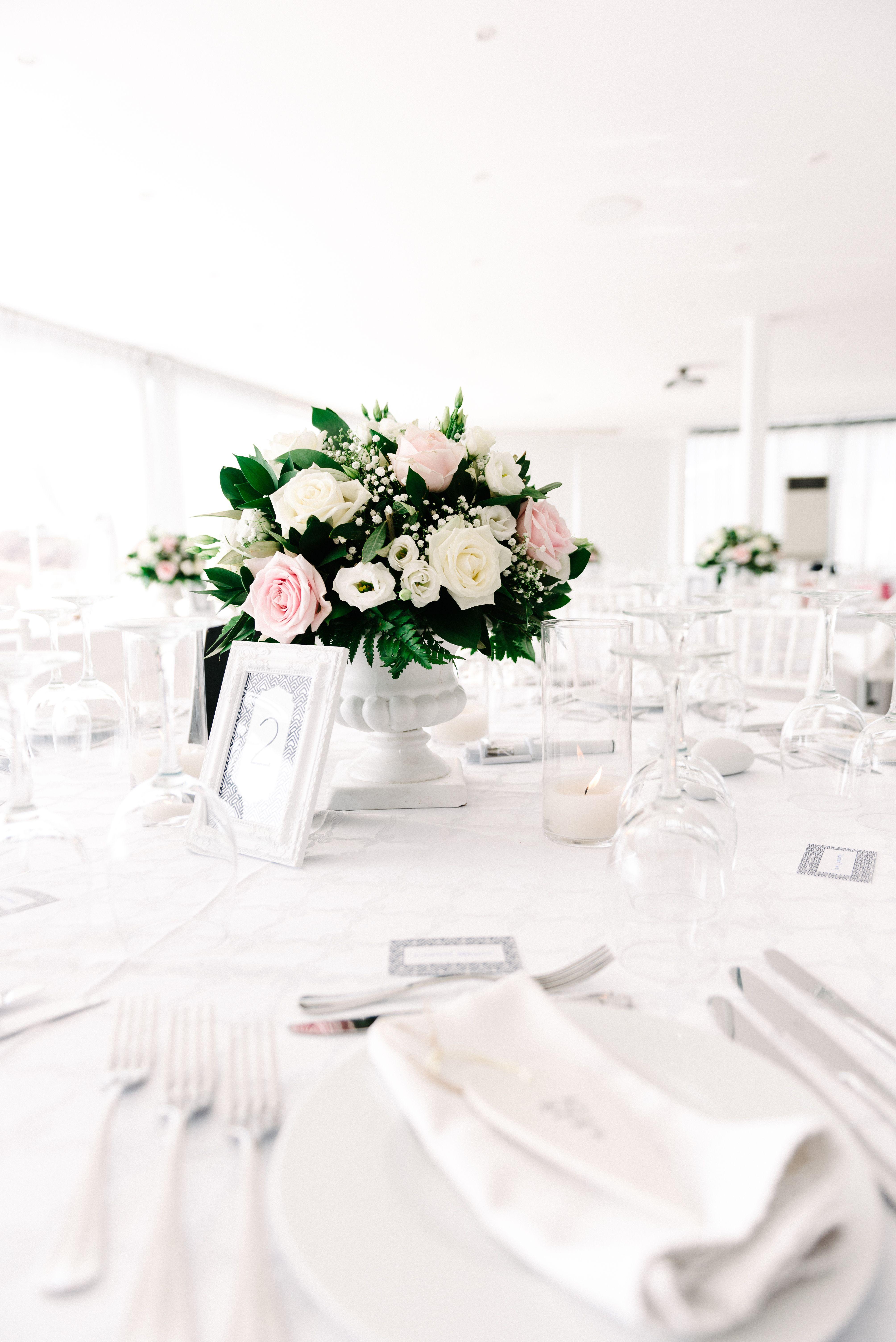 Wedding decorations to take abroad  Hall Lee u Wray Victoria Santorini Weddings Wedding venue Wedding