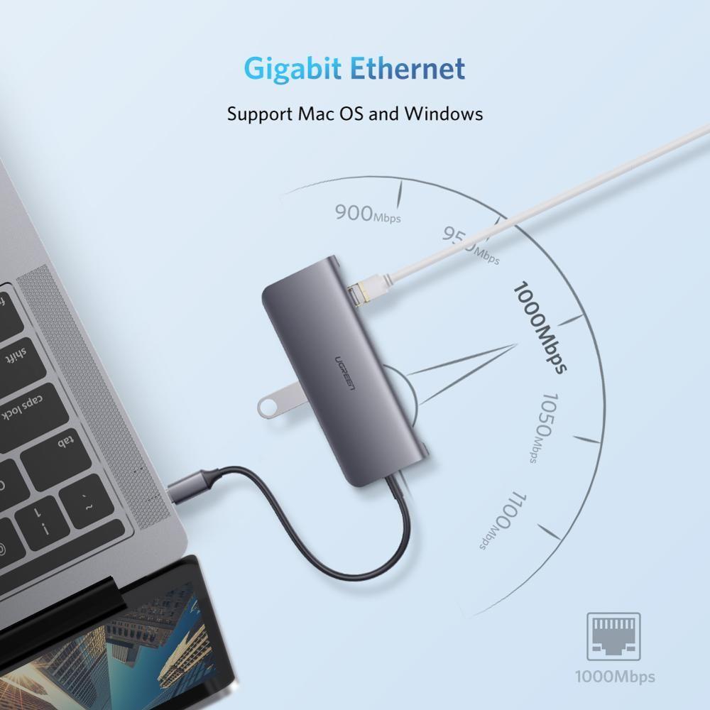 Usb Hub C Hub To Multi Usb 3 0 Hdmi Adapter Dock For Macbook Pro Accessories Usb C Type C 3 1 Splitter 3 Port In 2020 Usb Hub Macbook Pro Dock Macbook Pro Accessories