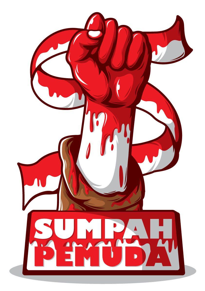 Bahan Gambar Sumpah Pemuda Sumpah Pemuda By Drud Studio On Deviantart Propaganda Art Panda Art Indonesian Art
