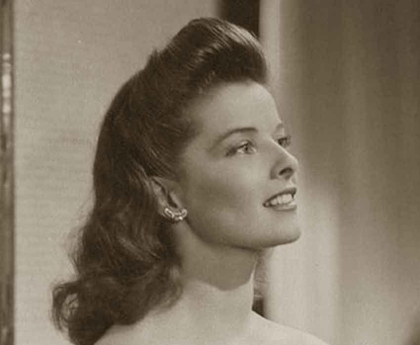 1940S Hairstyles 1940Shairstylesmemorablepompadourskatherinehepburn
