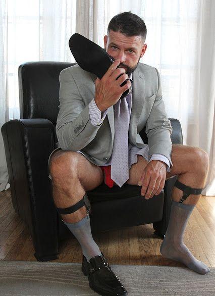 Sexy men in socks