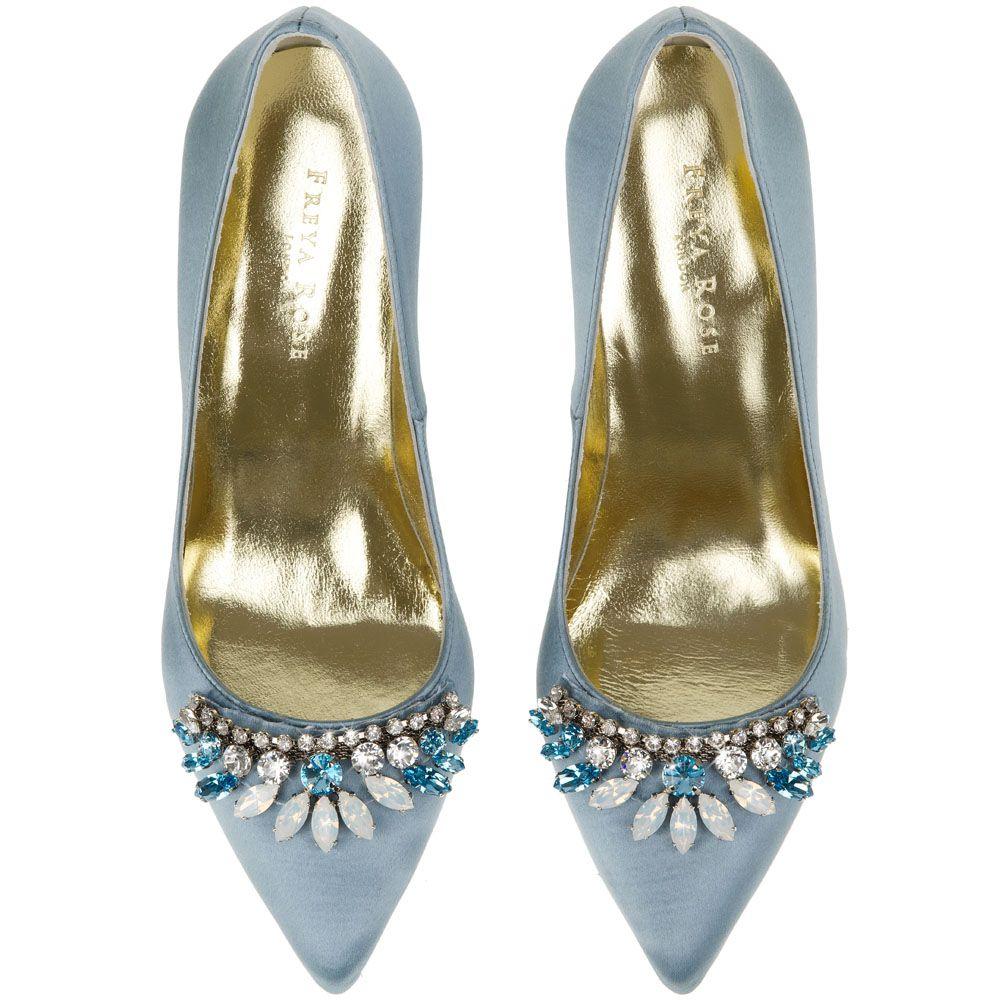 Chandelier Blue Wedding Shoes Blue Bridal Shoes Designer