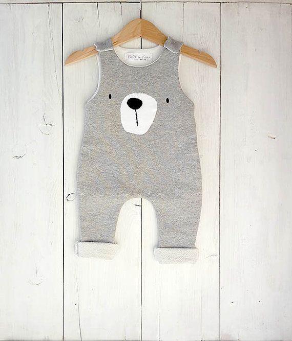 Baby Boy Latzhosen, Overalls, Bib Neugeborene Baby-Mädchen tragen Anzug Plüschtiere, Kleidung, Neugeborenes, kleiner Bär Baby Strampler, Bär #eyeshaveit