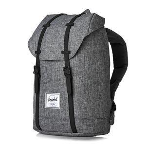 ec73a41f9f5d Herschel Backpacks - Herschel Retreat Backpack - Raven Crosshatch black  Rubber