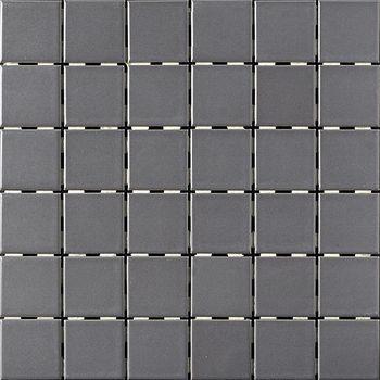 Dark Gray Matte Finish 2 X 2 Porcelain Tile Mosaic 4 49 Per