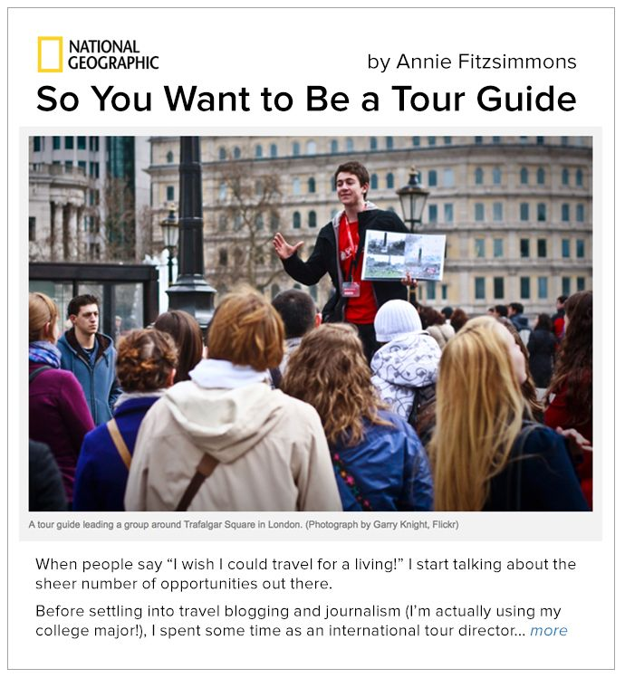 How to Make Money Being a Local Tour Guide