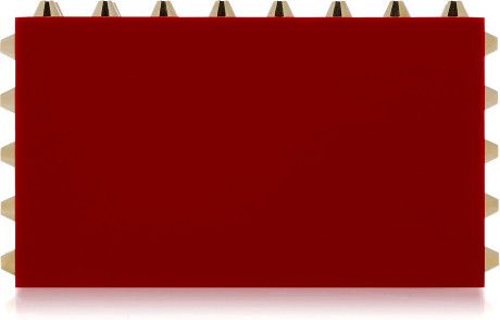 Naughty Pandora Clutch in Red - Lyst