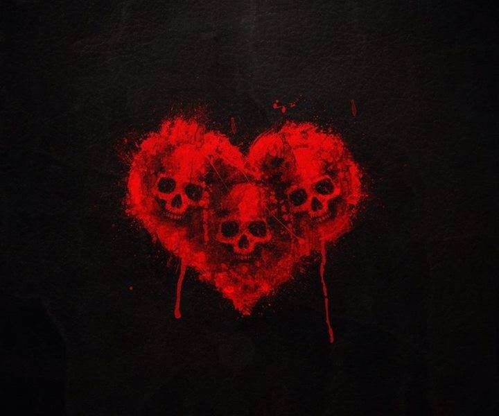 My Heart Bleeds For You Valentines Wallpaper Skull Wallpaper Black Skulls Wallpaper