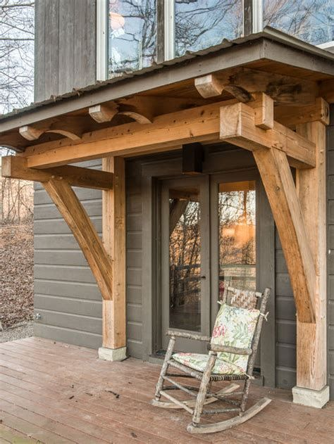 Timber Frame Porch Ideas Pictures Remodel And Decor Con